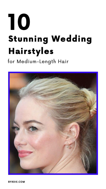 The best wedding hairstyles for medium-length hair