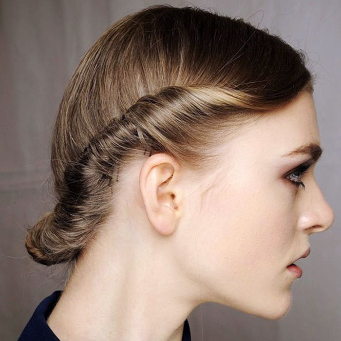 Try a double-twist halo for a sophisticated, elegant look