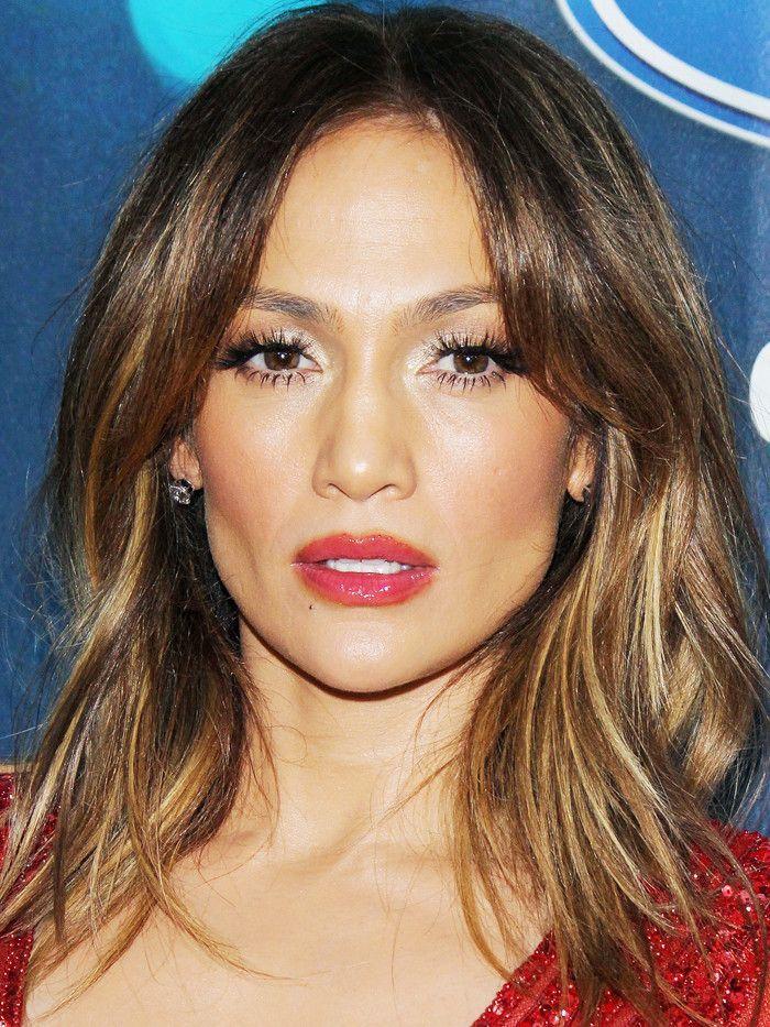 layered haircuts: Jennifer Lopez layered hair
