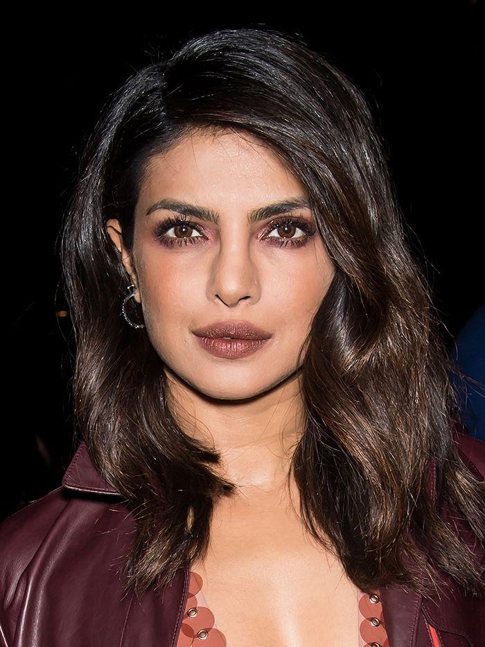 layered haircuts: Priyanka Chopra layered hair