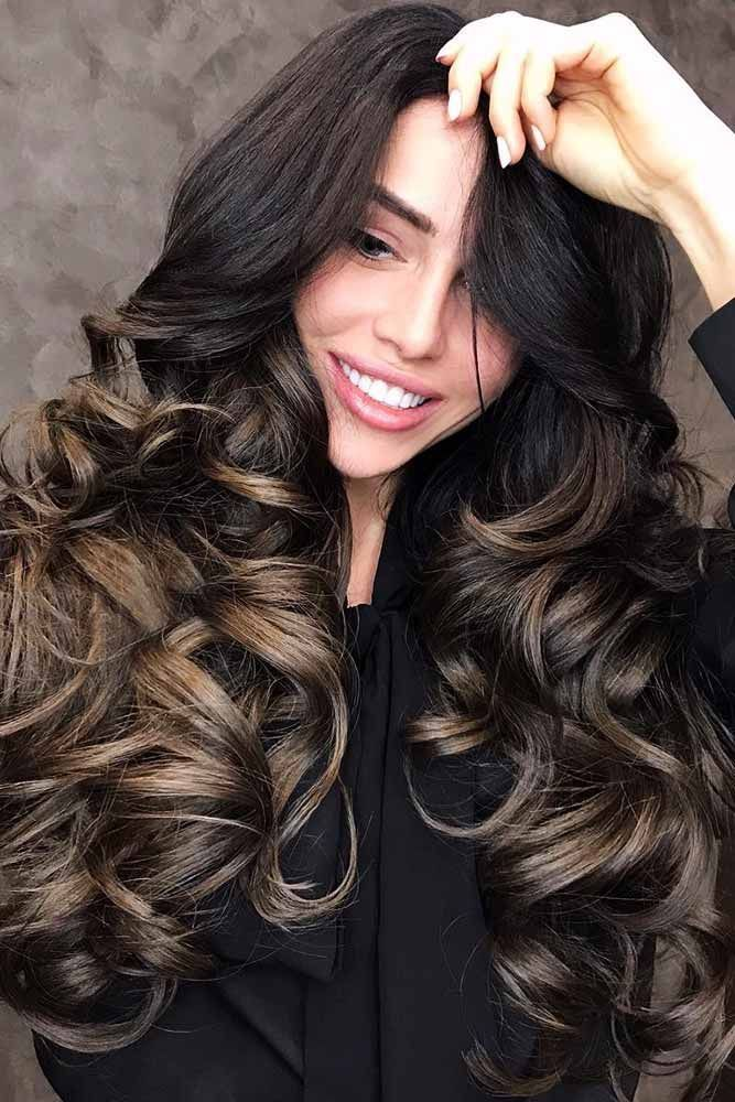 Black To Brown Hair Ideas Long #wavyhair #longhair #ombre ❤️ If you are abou...