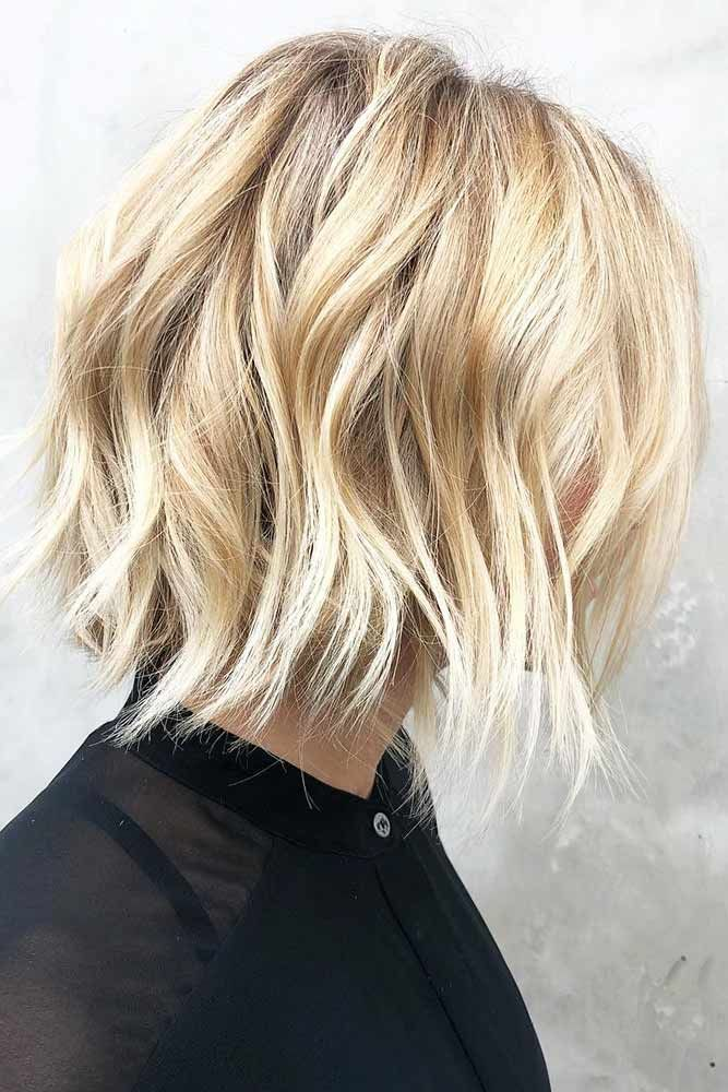 Buttery Blonde Babe #blondehair #wavyhair #bob ❤️ Blonde hair colors will ne...