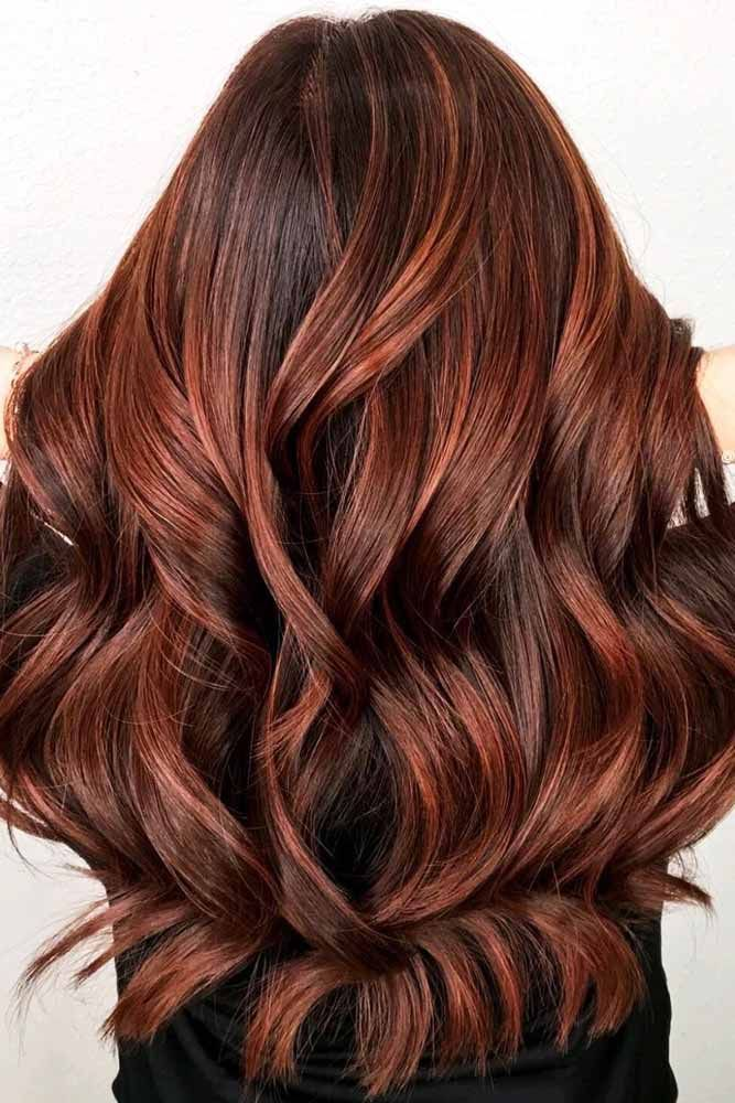 Dark Auburn Hair Color #redhair #brunette  ❤️ Discover the red hair color ch...