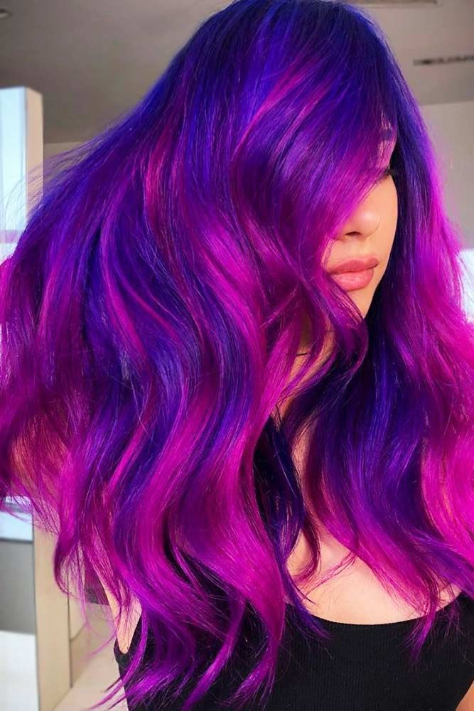 Hot Pink Streaks ❤️ If you have completely fallen in love with the concept o...