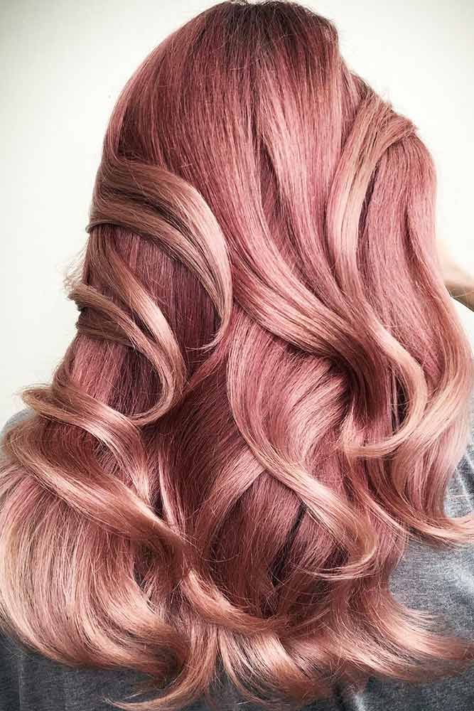 Rose Gold Highlights ❤️ If you have completely fallen in love with the conce...