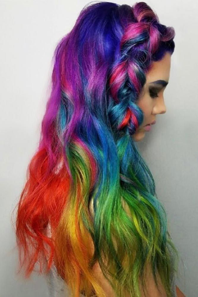 Hair Color 2017/ 2018 - Some Advice for Rocking Your Oil Slick Hair ...