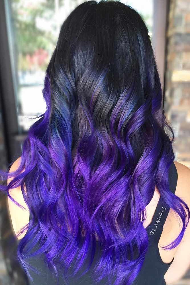 Hair Color 2017 2018 The Dark Side Of Seductive Purple