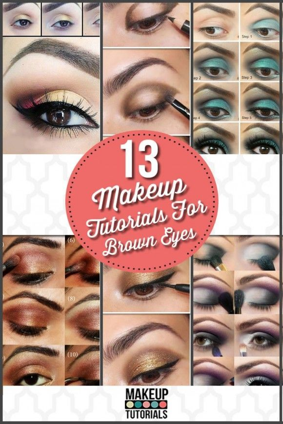 13 Of The Best Eyeshadow Tutorials For Brown Eyes - DIY Makeup Tutorials and Coo...