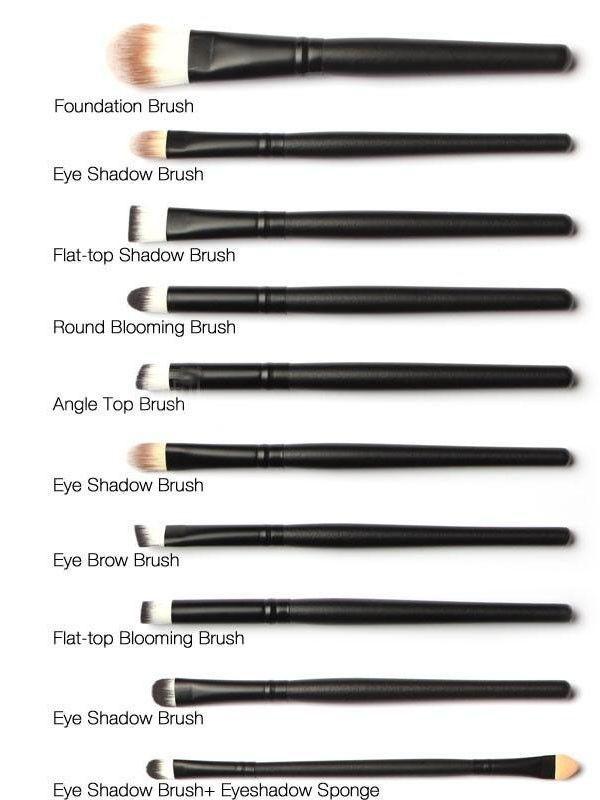 20 Piece Professional Makeup Brush Set