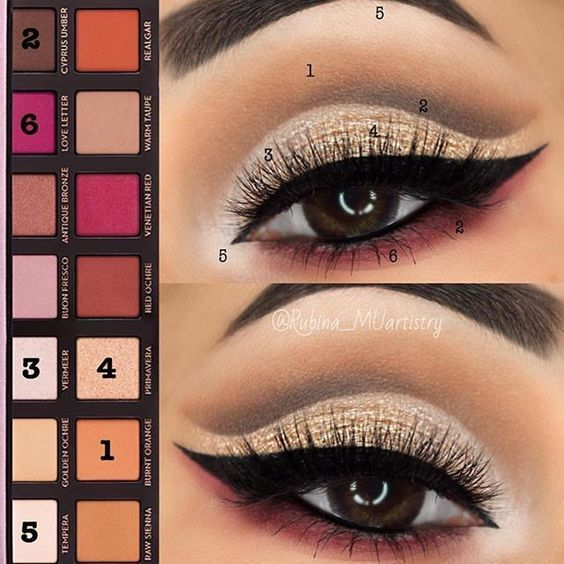 Beautiful by  @rubina_muartistry  Using the Modern Renaissance palette  #anastas...