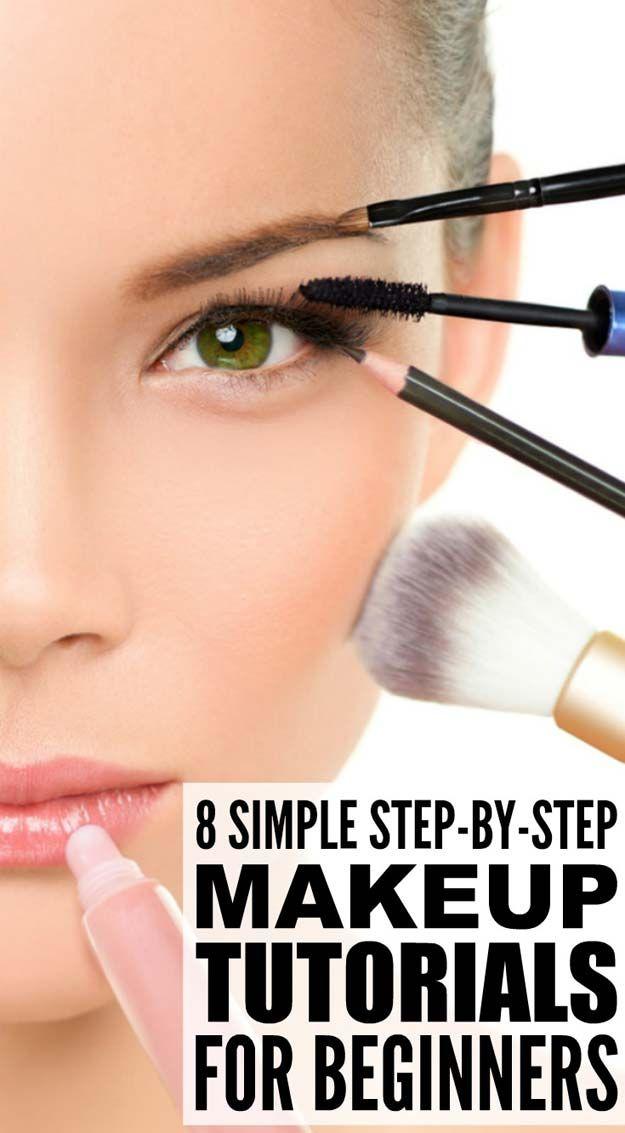 Best Makeup Tutorials for Teens -8 Step-by-step Maekup Tutorials for Beginners -...