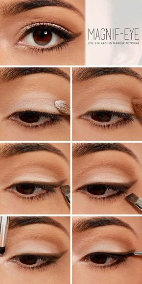Best Makeup Tutorials for Teens -Magnify Your Eyes - Easy Makeup Ideas for Begin...