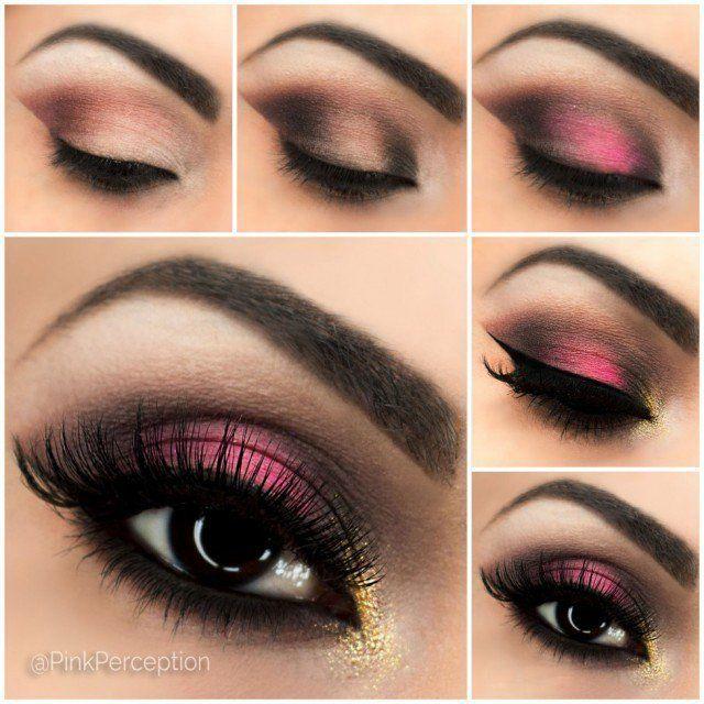 Makeup Ideas 2017 2018 Breathtaking Pink Smoky Eye Makeup