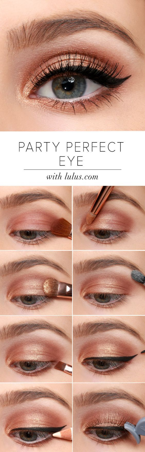 Bronze is big. For daytime or evening, The Nudes Palette can create an array of ...