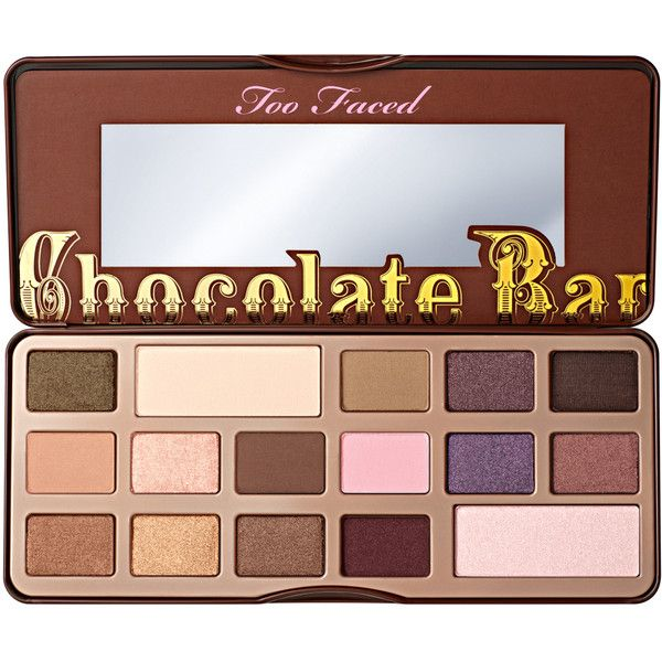 Chocolate Bar Eyeshadow Palette - Too Faced found on Polyvore