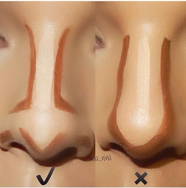 Dos and don'ts of nose contour