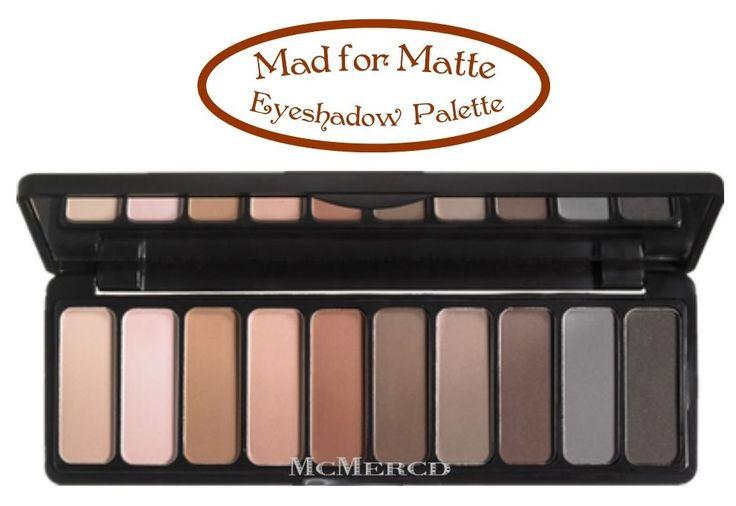 ELF+Mad+For+Matte+Eyeshadow+Palette+-+E.L.F+10+New+Gorgeous+Matte+Shades+#Eyesli...