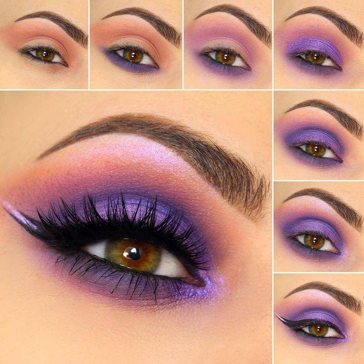 Easy Step By Step Eye Makeup Tutorials for Beginners