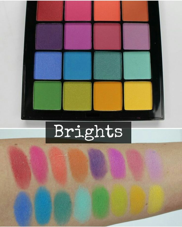 GOOD BUYS   • brights palette by nyx
