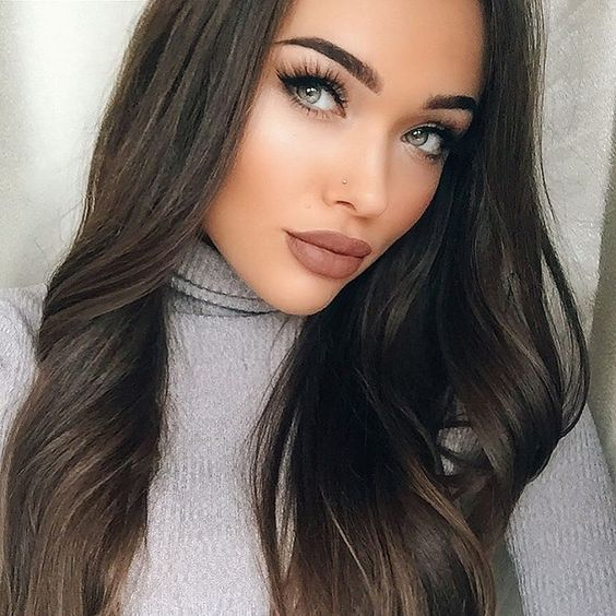 Gorgeous sexy lip color