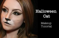 Halloween Cat Makeup Tutorial. by Laura Kay WHAT YOU'LL NEED Foundation Conc...