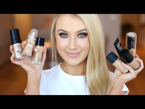 Hey loves! In this video I talk about all of my holy grail/most used liquid foun...
