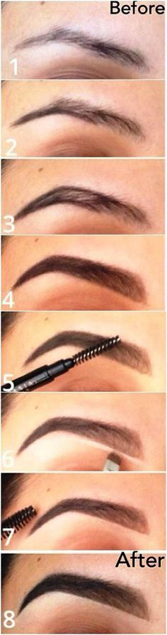How to Fill in Your Brows | Eyebrow Makeup Tutorials for Beginners by Makeup Tut...