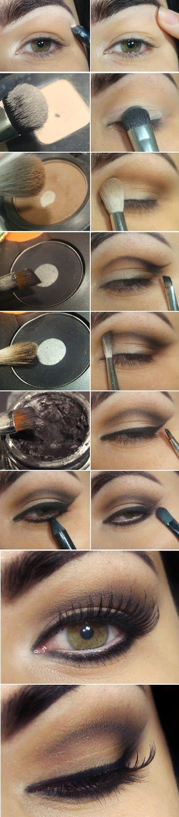 Inspiration and Marked Concave Lid Nude Makeup Tutorials Step by Step / Best LoL...