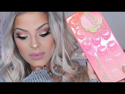 MAKEUP TUTORIAL | Toofaced Sweet Peach Palette - YouTube