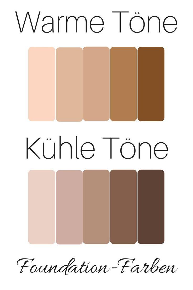 Make up: Den richtigen Foundation-Grundton wählen. ..... Foundation Farbe finde...
