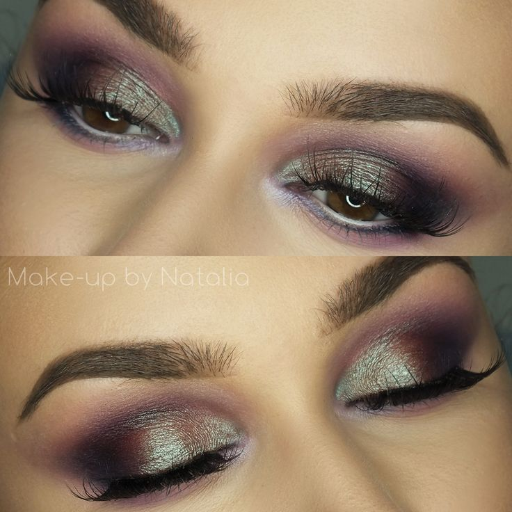 Makeup Geek Duochrome Eyeshadow in Blacklight + Makeup Geek Eyeshadows in Boo Be...