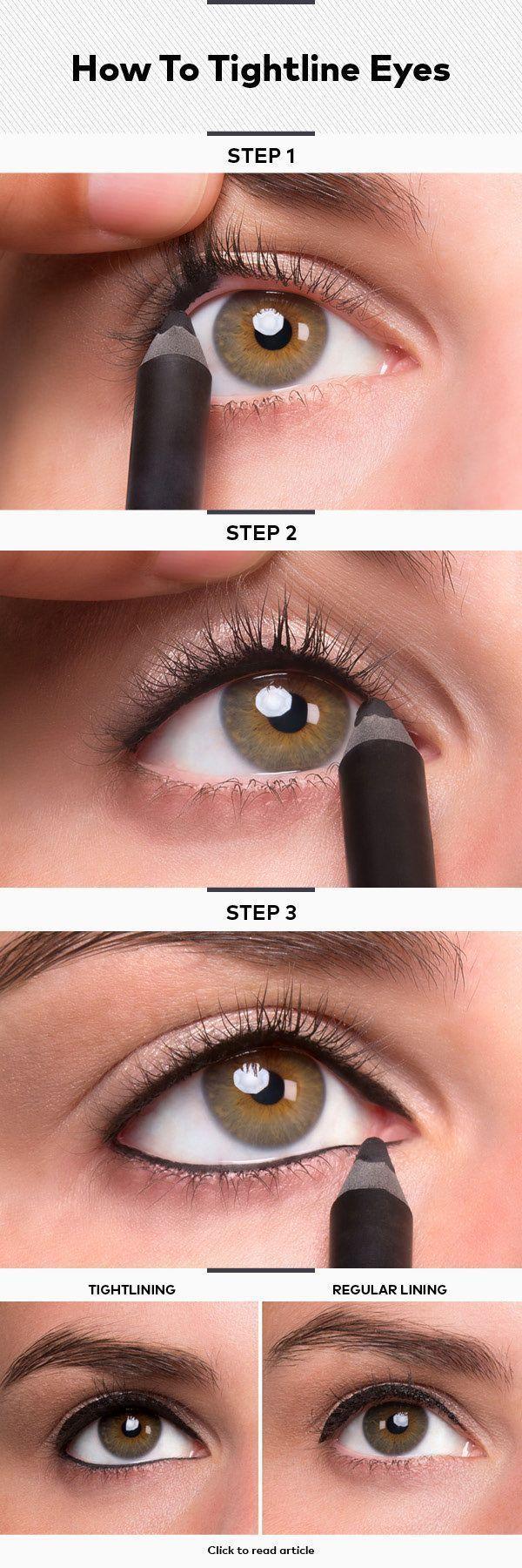Makeup Tutorials: 17 Great Eyeliner Hacks. Quick and easy DIY tutorial for a per...