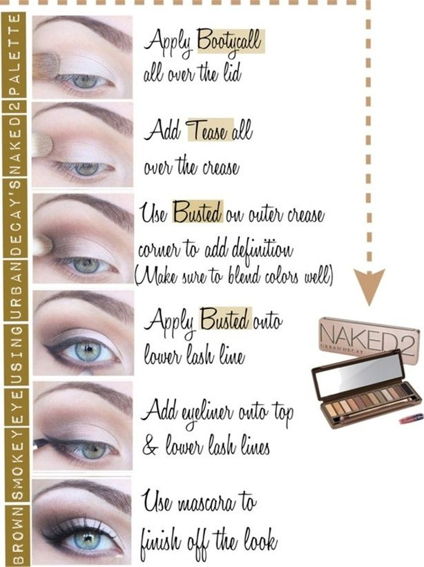 NAKED 2 PALETTE HOW TO  I just ordered this palette from sephora...can't wai...
