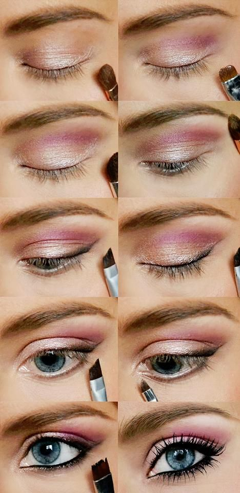 Need an excuse for a wild purple look? Here is some inspiration from Barbie Muta...