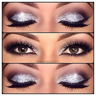 Nighttime eye makeup for Vegas