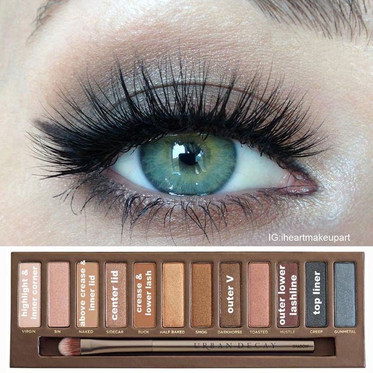Makeup Ideas 2017 2018 Soft Naked Palette Look Idea