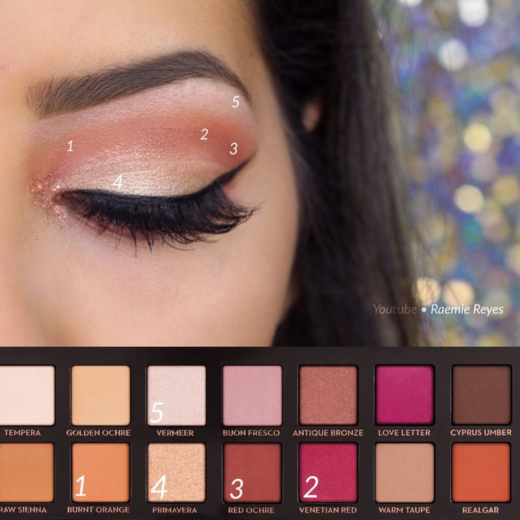 Step by step using the Anastasia Beverly Hills Modern Renaissance Palette ~ watc...