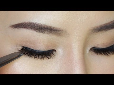 Struggle With Applying False Lashes? Watch This Video