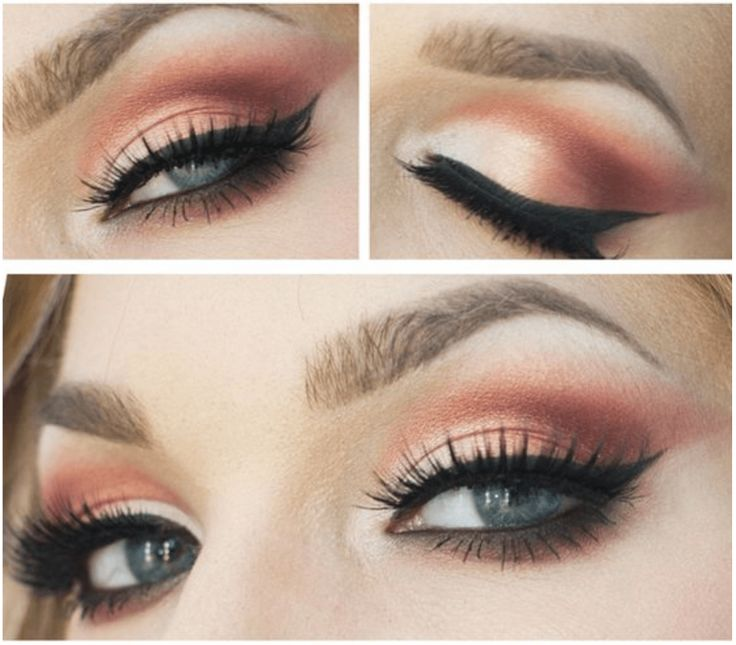 Sunset Copper Eye Makeup Tutorial | 7 Spring Makeup Looks To Inspire You, check ...