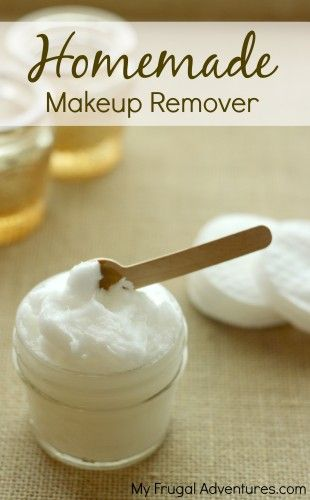 Super simple one ingredient, all natural makeup remover.  Just as effective as t...