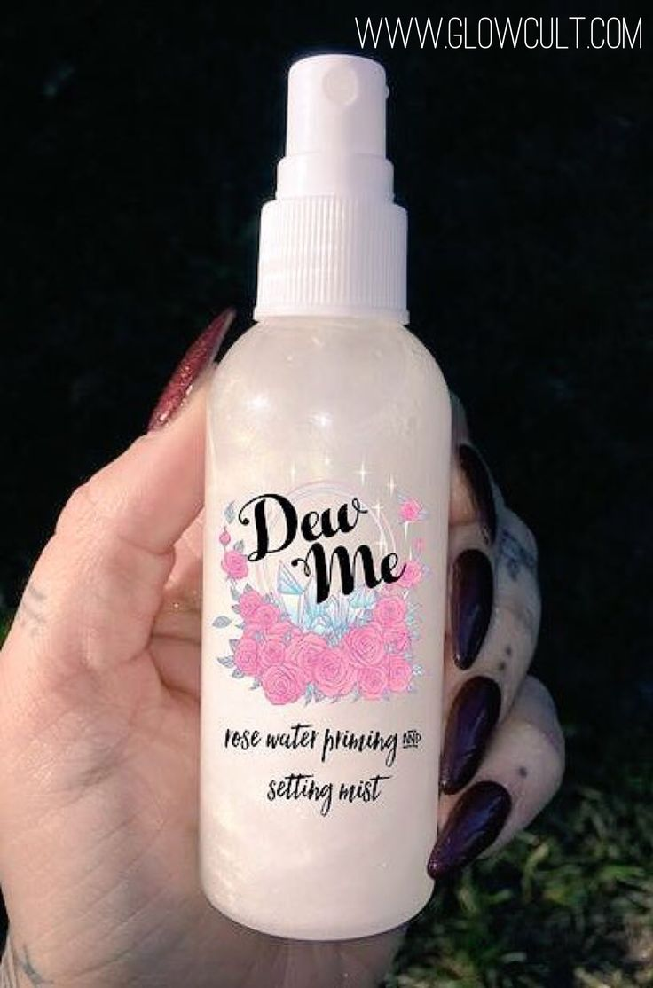 The Dew Me spray from glowcultcosmetics... is a must have item.  they have perfe...