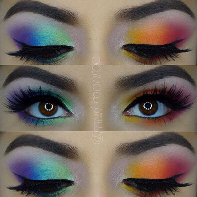 mari.monroe used the Third Edition - 120 Color Eyeshadow palette for this awesom...