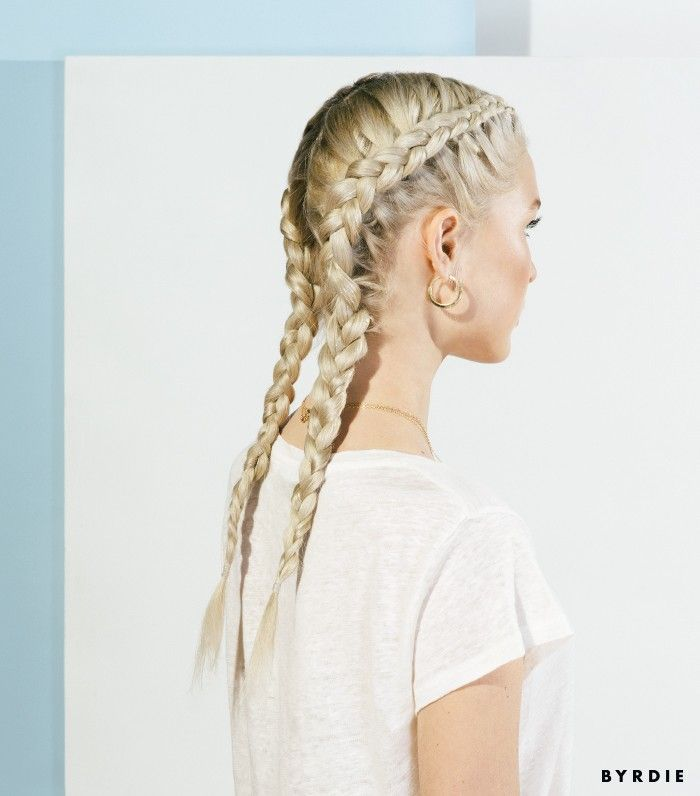 Dutch braids are gorgeous. Find out how you can fashion them yourself with these...