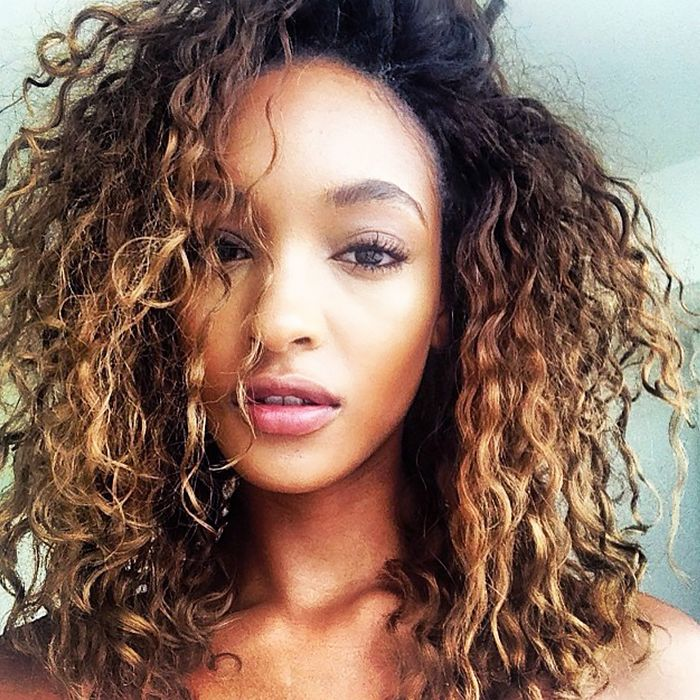 Best Hairstyles For 2017 2018 Jourdan Dunns Naturally Curly Hair