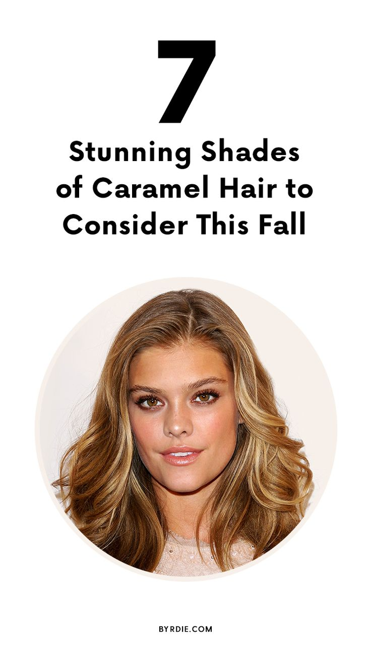 The best shades of caramel hair