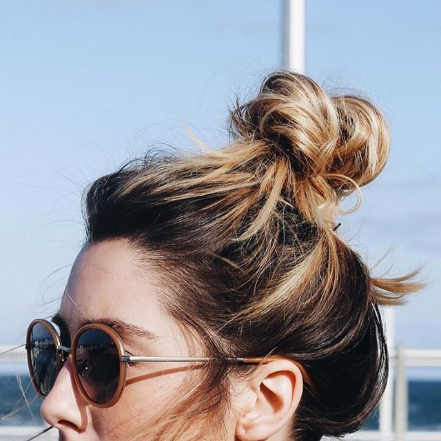 Top knot on point!