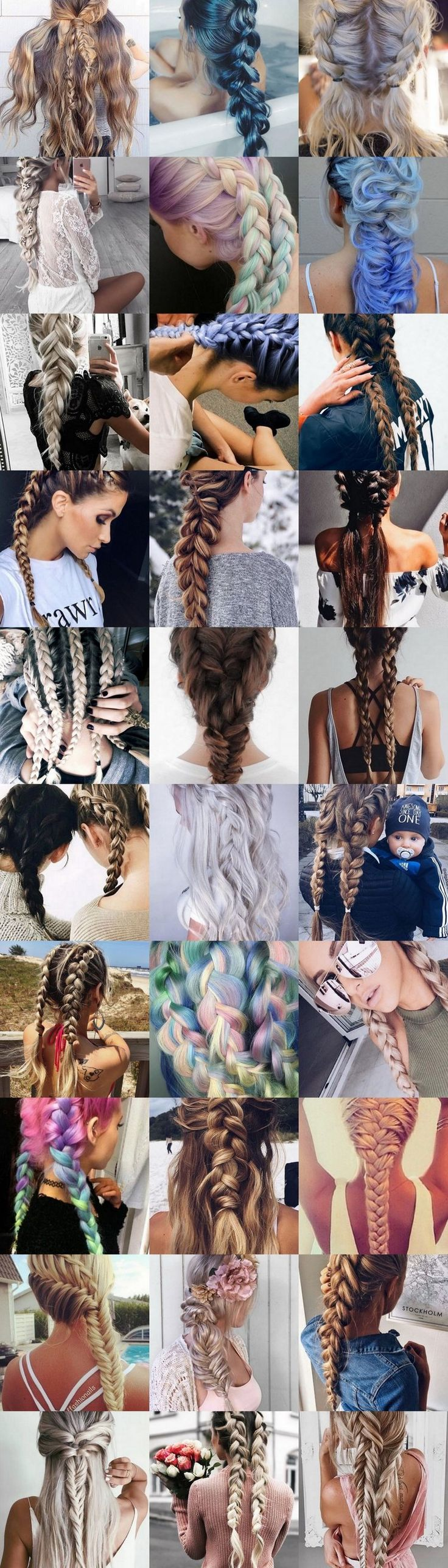 101 Braided Hairstyles #braids #hair #hairstyle