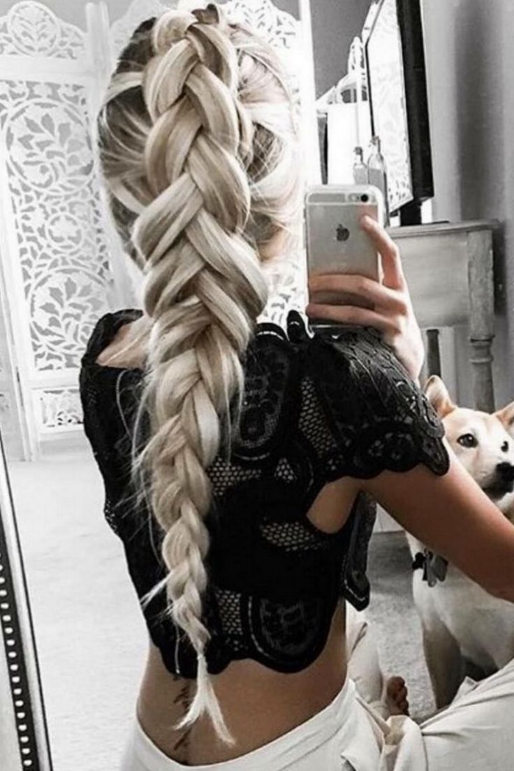 Trending braids and hairstyles from Pinterest