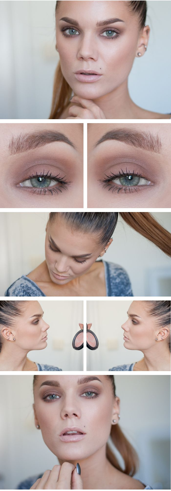 ♥ Linda Hallberg - incredible makeup artist. Very inspiring -- from her daily ...