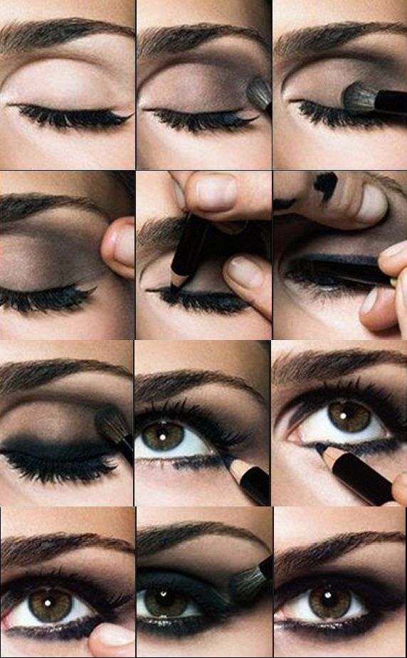 15 Attractive Smokey Eye Makeup Tutorials - Always in Trend | Always in Trend